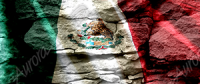 Mexican Flag Waving Rock