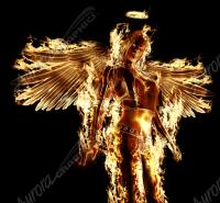 Flaming Angel