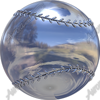 Chrome Baseball