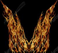 Natural Hood Flame 10