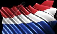 Waving Holland Flag Cloth