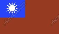 Taiwan Flag Flat