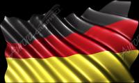 Waving German Flag