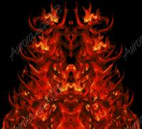 Natural Hood Flame 1