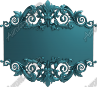 Filigree Sign Blank Square