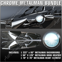Chrome MetalMan Bundle