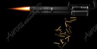 Gatling Gun Firing