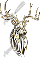 Gold Tribal Buck