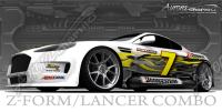 Z Form Lancer Poster