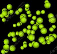 Raining Tennis Balls