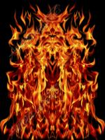 Natural Hood Flame 2