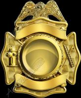 Firefighter Badge 7