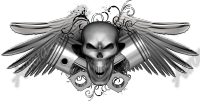 Skull Wing Element