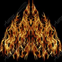 Natural Hood Flame 7