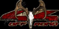 4x4 Buck Skull