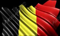 Waving Belgium Flag Cloth