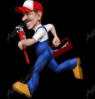 Plumberman Running