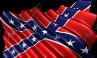 Waving Rebel Flag