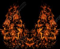Natural Hood Flame 8