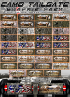 Camo Tailgate Graphics Pack