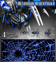 Mechanical Spider Pack II