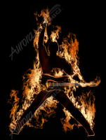 Flaming Rock Star