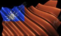 Waving Tiawan Flag