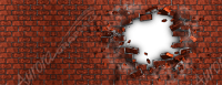 Brickwall Explosion
