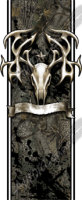 Tribal Buck Skull 2 Bed Band