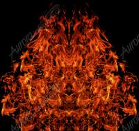 Natural Hood Flame 3