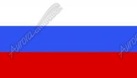 Russian Flag Flat