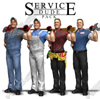Service Dude Pack