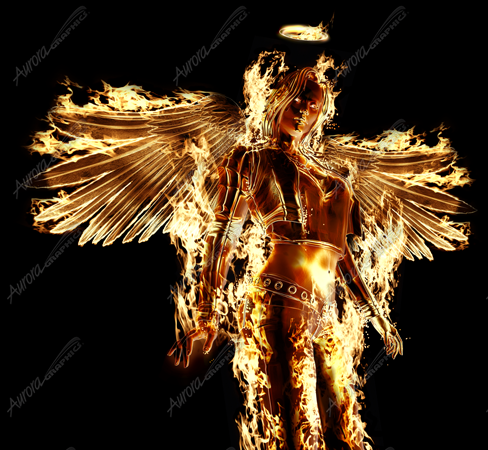 Flaming Angel