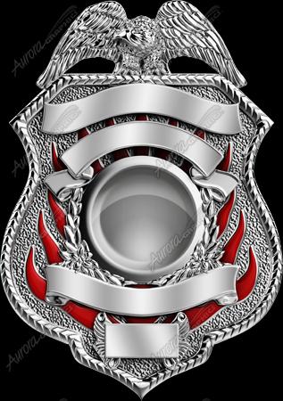 Firefighter Badge 1