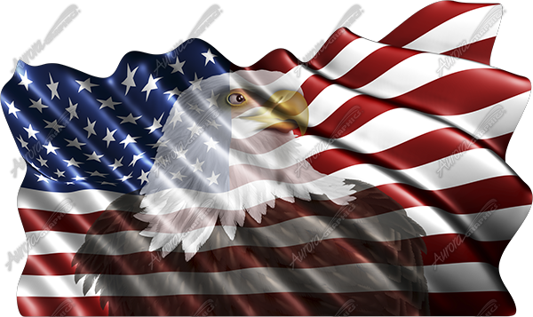 american flag eagle pictures. Waving American Flag Eagle