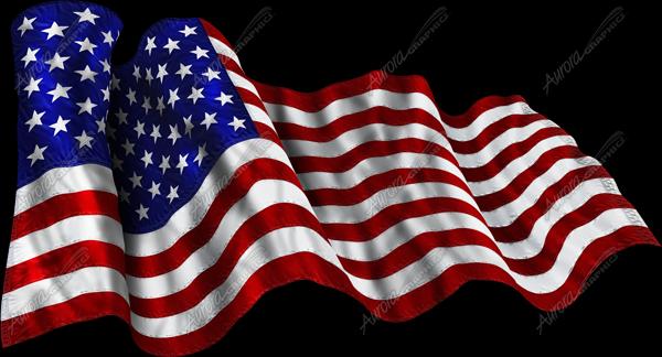 Furling American Flag