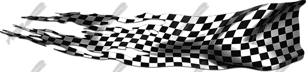 Ripped Checkered Flag