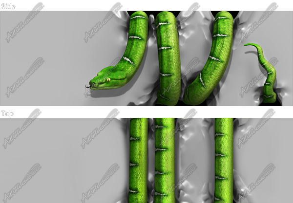 Tree Snake Crushing Vehicle