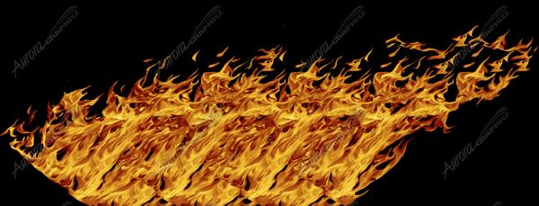 Natural Rocker Panel Flame 3