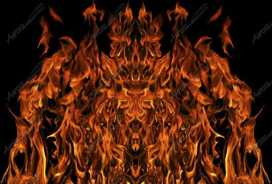 Natural Hood Flame 6