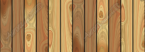 Upright Cedar Boards